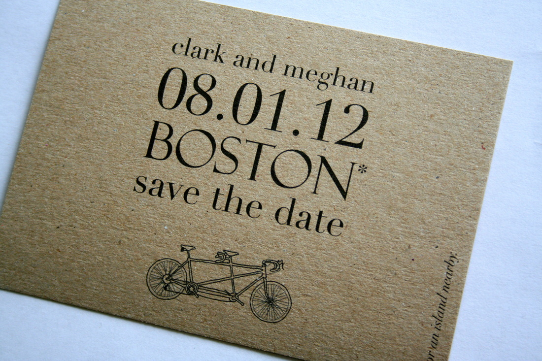 Modern And Eco Friendly Save The Date Postcards These Were Created For A Who Knew What They Wanted From Beginning Down To Fonts